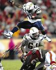 Nick Hardwick Signed Chargers Football 8x10 Photo PSA DNA COA #61 Picture Auto'd