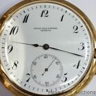 Golay Fils 18k Gold Rare Clok Watch Repeater Grande Sonnerie Antique Pocket LOOK