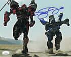 JUSTIN THEROUX Bumblebee Signed DROPKICK 8x10 Photo In Person AUTOGRAPH JSA COA