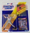 1992 Starting Lineup Chuck Finley California Angels Action Figure Card & Poster