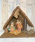 VTG FONTANINI 5 HEIRLOOM NATIVITY SET 54526 Box not Included
