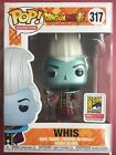 SDCC Exclusive 2018 FUNKO POP! FUNIMATION Dragon Ball Z Metallic WHIS COMIC CON