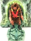 Vintage Mattel He Man Masters of the Universe Grizzlor Figure Complete Green Bow