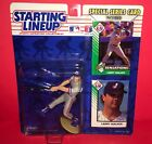 1993 STARTING LINEUP -MLB--LARRY WALKER-NEW WITH 2 CARDS