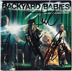 BACKYARD BABIES Making Enemies Is Good FULLY SIGNED Stockholm Syndrome AUTOGRAPH