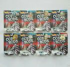 1999 Hot Wheels Cop Rods Series 2 56 Ford Chevelle 1 64 Police Cruiser Lot of 8