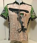 Vintage 90s Primal Wear Dont Hurt The Dirt Frog Graphic Cycling Jersey M