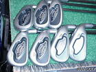 Nice Tour Issue Callaway X 16 Steelhead Pro Series Irons Set 4 PW Rifle 65 X