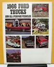 1966 Ford Bronco Econoline F Series Gas Diesel Full Line Sales Folder Brochure