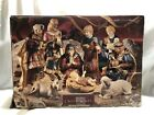 Grandeur Noel 9 Piece Porcelain Nativity Set Christmas Collectors Edition 449 18