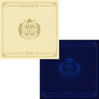 AOA-[Angel's Knock] 1st Album 2 Ver SET CD+Booklet+Selfie Photo+Card+Post+Gift