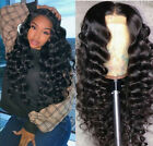 US Fashion 360 Lace Frontal Wig Curly Malaysian Virgin Long Ombre Braid Wigs