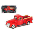 New 1940 Ford Pickup Truck Red 1 24 Diecast Model Car by Motormax 73234r