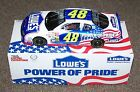 2002 RACING CHAMPIONS JIMMIE JOHNSON LOWES POWER OF PRIDE EMPLOYEES DIECAST CAR