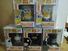 Funko Pop Despicable Me 3 Dave Jerry Fluffy Dru Kyle & FYE Exclusive Pack MIB