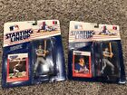 1988 KEITH HERNANDEZ AND 1988 DON MATTINGLY STARTING LINEUP- SLU FIGURE