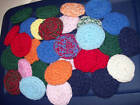 10 Nylon Net Scrubbies Assorted Colors Special Price