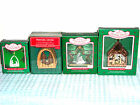HALLMARK ORNAMENTS MINIATURE CRECHE SERIES HOLY FAMILY DEPICTED VARIOUS MEDIUMS!