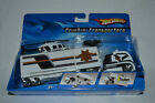 2006 Hot Wheels Truckin Transporters KO437 Rare NIB Hot Wheels Police Helicopter