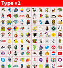 500 Skateboard Stickers bomb Vinyl Laptop Luggage Decals Dope Sticker lot cool