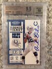2012 CONTENDERS ANDREW LUCK BGS 9.5 INSCRIBED