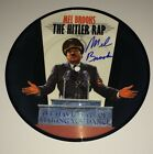 Mel Brooks Signed RARE 7' Hitler Rap Picture Disc IN PERSON Exact Proof JSA COA