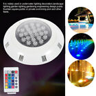 24W LED Swimming Pool Underwater Light RGB Remote Control Pool Lights Outdoor