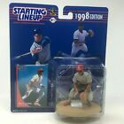 Starting Lineup SLU MLB 1998 Barry Larkin Sports Figure & Card CINCINNATI REDS