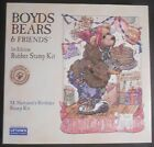 Boyds Bears & Friends 1st Edition M Harrison's Birthday Rubber Stamp Kit NEW