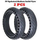 1 2pc Upgraded Solid Hollow Tires Wheel Inner Tube For Xiaomi M365 Electric ES4
