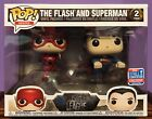 Funko Pop Justice League The Flash and Superman 2Pack NYCC 2018 Exclusive