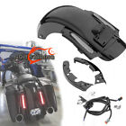CVO Style LED Rear Fender System Fit For Harley Touring Street Glide 2009 2013