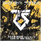 TWISTED SISTER Club Daze, DEE SNIDER Eddie Ojeda French Mendoza Autograph SIGNED