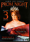 Prom Night Collection 1 2 4 DVD 2018 triple feature Jamie Lee Curtis 1980