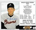 Phil Niekro Cards, Rookie Card and Autographed Memorabilia Guide 38