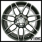 20 ACE MESH 7 GREY MACHINED CONCAVE WHEELS RIMS FITS LEXUS IS250 IS350