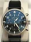 IWC IW377709 Mens Pilots Watch Chronograph NEW 43MM FREE SHIPPING