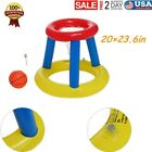 Inflatable Water Basketball Stand Best Summer Sports In The Pool For Children