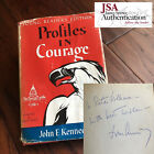JOHN F. KENNEDY * JSA LOA * 1961 Signed AS PRESIDENT Book Profiles * Autograph