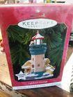 1999 Hallmark Keepsake Ornament LIGHTHOUSE GREETINGS Magic Light #3 In Series