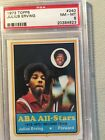 1973 Topps #240 Julius Erving PSA NM-MT 8