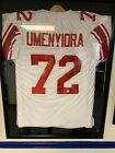 Osi Umenyiora Signed New York Giants Autographed Jersey