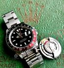 Rolex GMT Master 16710 wCoke Bezel Stainless Mens Watch- Unpolished with Sticker