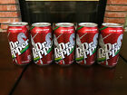 Five 5 Dr Pepper Limited Edition Unicorn 12 oz Cans RARE  SEALED