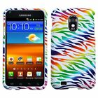 Compact and Durable Protective Cover for Samsung Galaxy S2 Epic 4G Touch Zebra