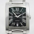 EBEL BRASILIA E9120M41 Automatic Black dial Date Stainless steel Men's