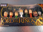 Lord Of The Rings PEZ Dispensers 2011 Collectors Set NIB Gandalf Gollum Gilmi ++
