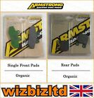 Armstrong Complete Brake Pad Kit CH Racing WXE 50 Enduro 2005 BK112041