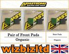 Complete Brake Pad Kit Moto Guzzi 350 V 35 II (Cast Wheels) 1980-85 BK111826