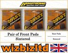 Complete Brake Pad Kit Moto Guzzi 350 V 35 II (Cast Wheels) 1980-85 BK112340